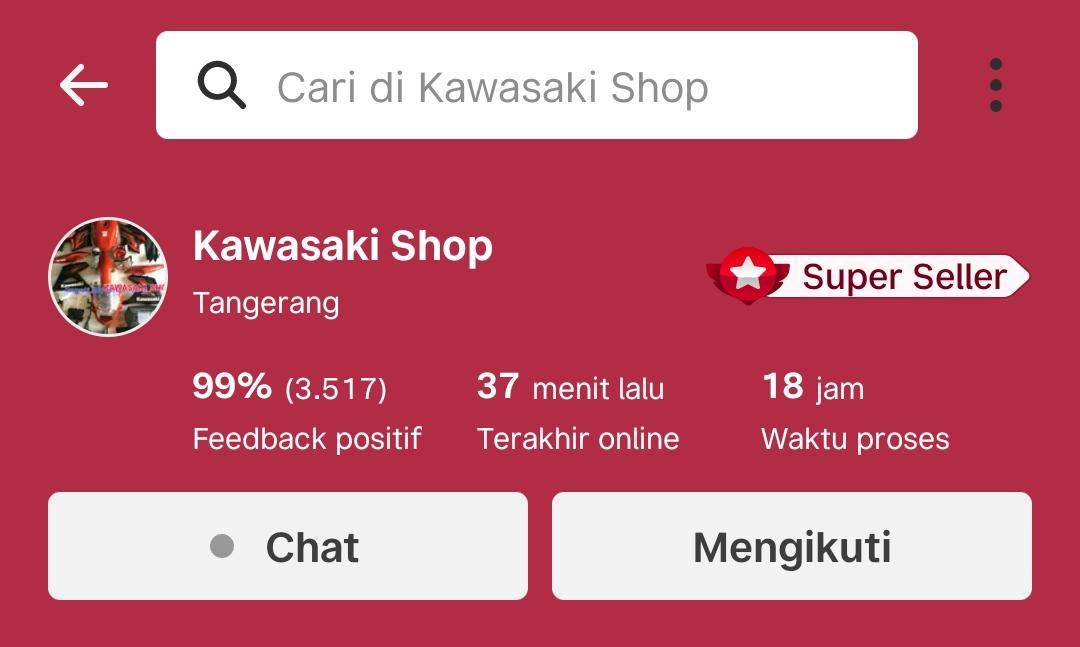 Kawasaki Shop Pusat Penjualan Sparepart Resmi Online Lengkap Terpercaya