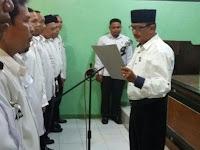 Pengurus KKG MI Kab. Bondowoso Periode 2018 - 2023 Dikukuhkan