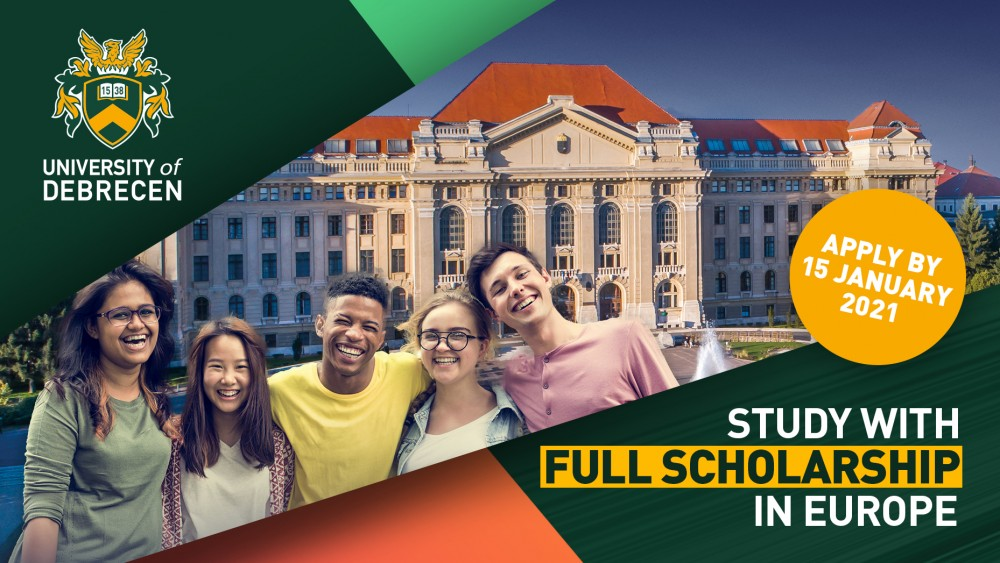 5000 Fully Funded University of Debrecen Scholarship in Hungary 2021
