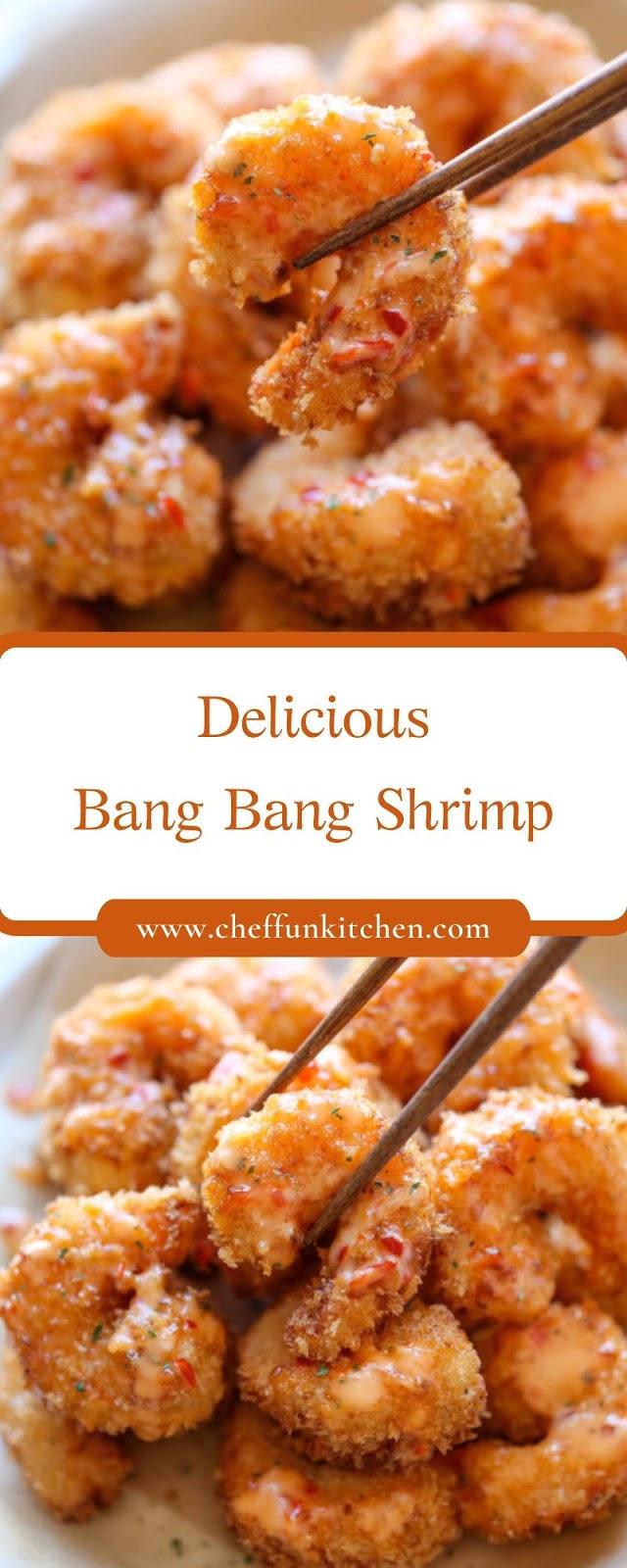 Delicious Bang Bang Shrimp