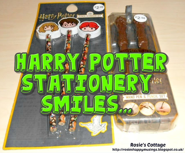 Stationery Smiles at Hogwarts...Harry Potter Stationery Supplies