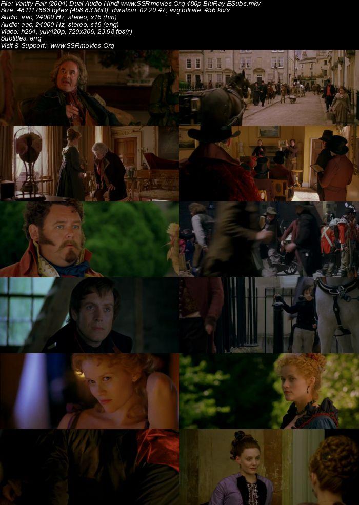 Vanity Fair (2004) Dual Audio Hindi 480p BluRay