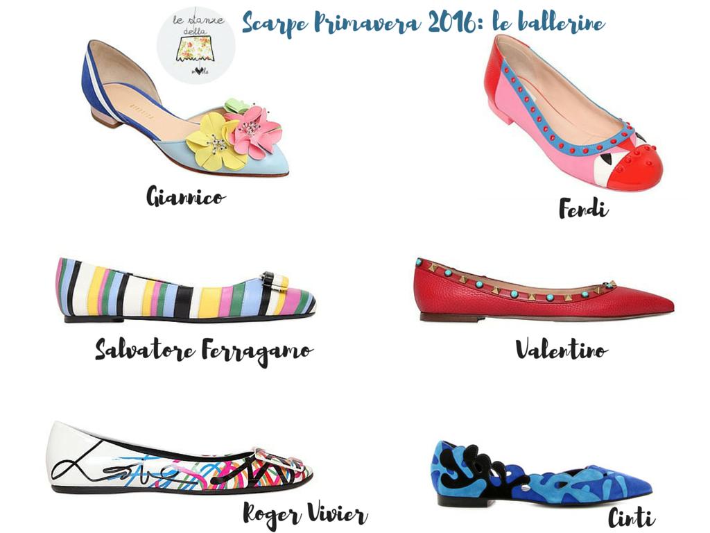 1155b86dfd745 Partiamo dalle ballerine e iniziamo in bellezza con sei proposte per la primavera  2016 (quasi) tutte costose  si parte dai 400€ euro ai 600€ escluse quelle  ...