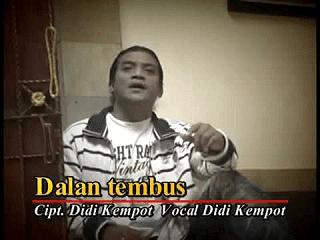 Lirik Lagu Dalan Tembus - Didi Kempot