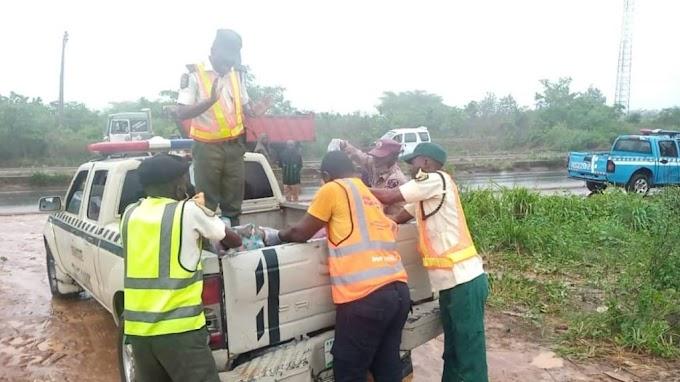 Two die as bus conveying nurses somersaults in Ogun State