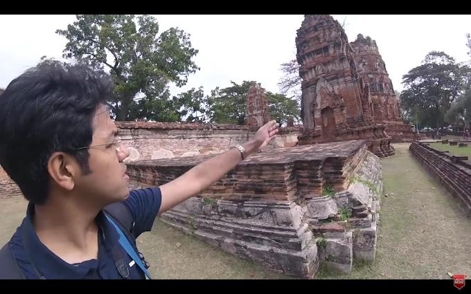 Wat Mahathat, old Ayutthaya - Thiland