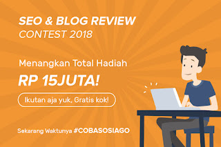 SOSIAGO - Banner Blog Contest