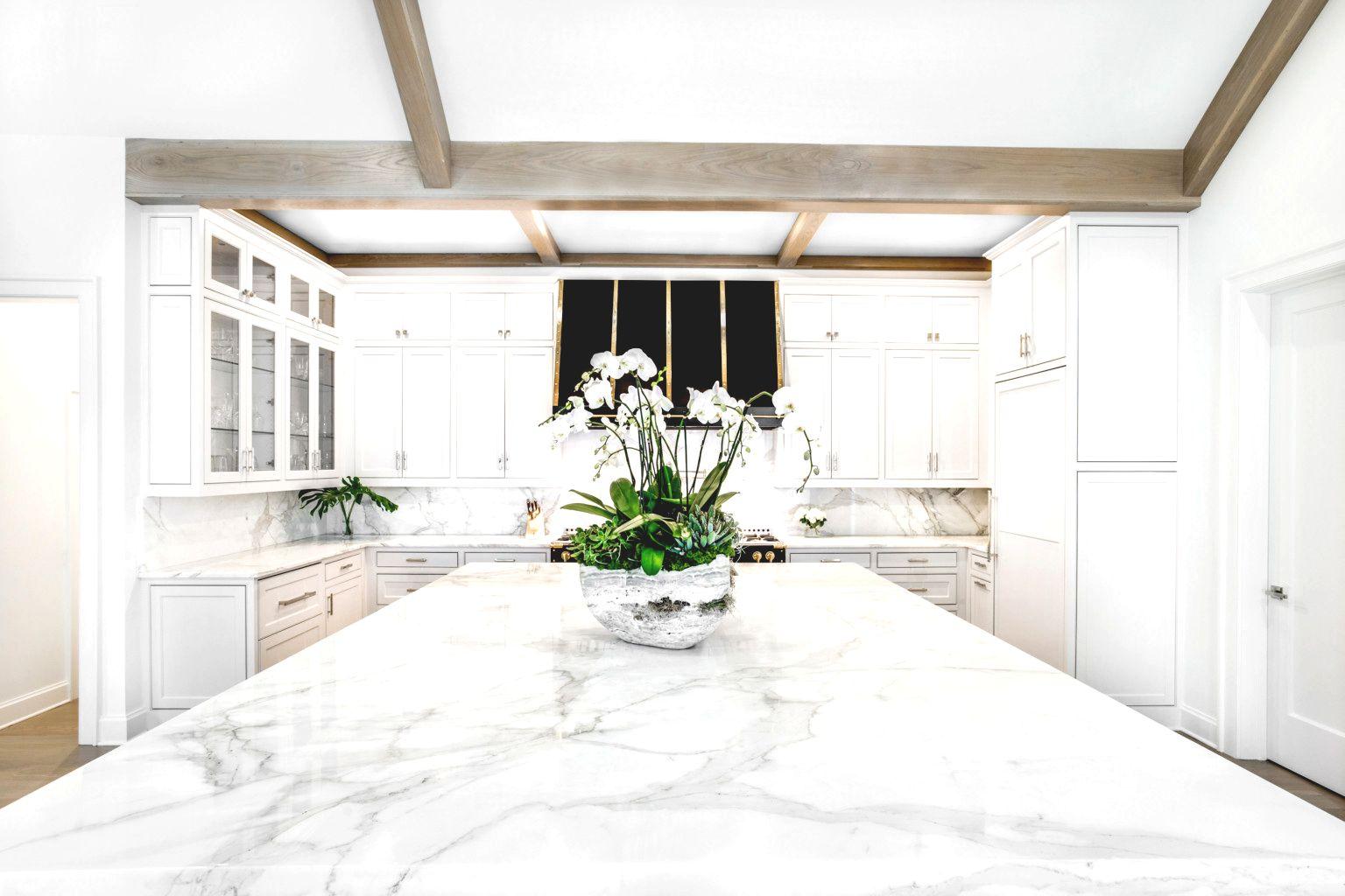 Aria Stone Gallery Gretchen Hiley Calacatta Gold Borghini Extra Marble Kitchen Blog