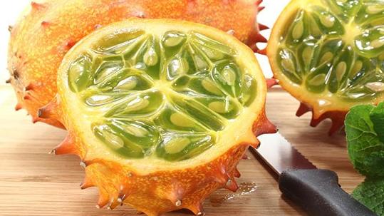 Buah Kiwano Melon