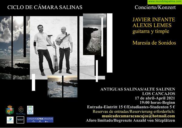 SALINAS: Javier Infante y Alexis Lemes