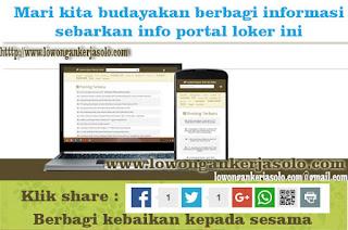 Portal Lowongan kerja SD AL ISLAM 3 GEBANG SURAKARTA
