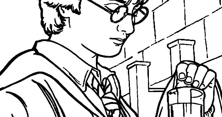 Dibujos Para Colorear Harry Potter: Blog MegaDiverso: Harry Potter Para Colorear Dibujos