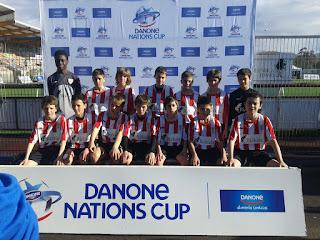 Nuestros alevines semifinalistas en la Danone Nations Cup 2016