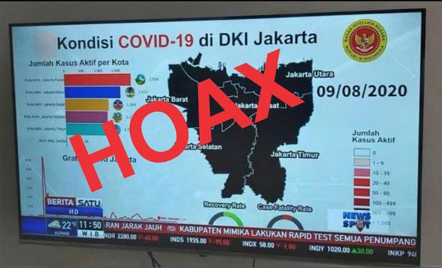 Anies Difitnah Lagi, Data BIN Tetapkan DKI Jakarta Zona Hitam Covid-19 Adalah Hoax