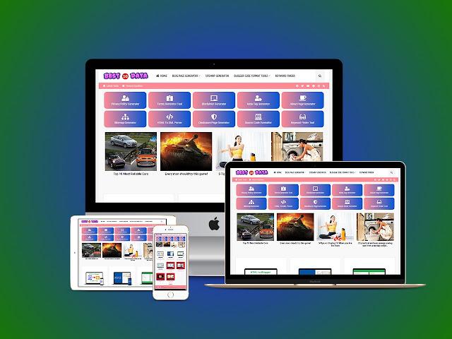 SEO Tool Website Script For Blogger - emexee.com