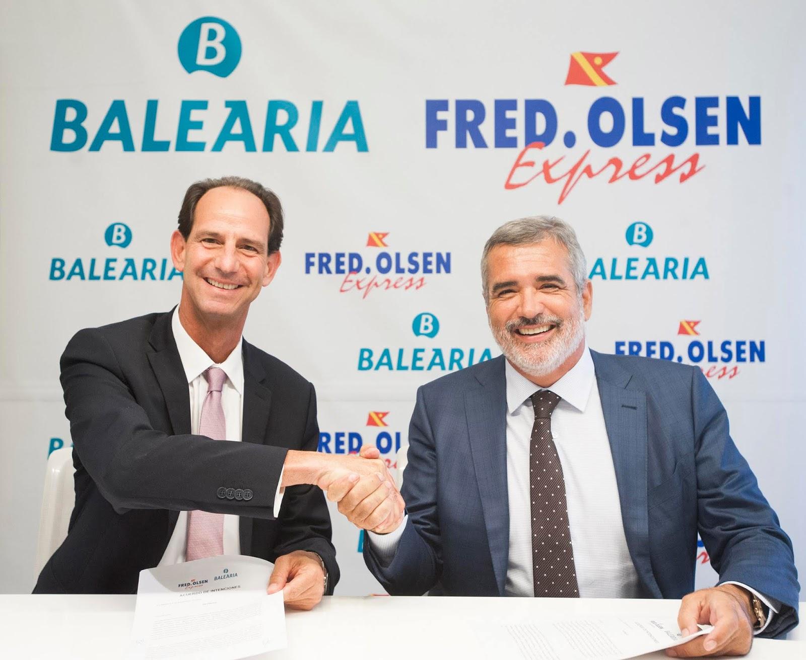 Resultado de imagen de Fred Olsen y Baleária aumentan la conectividad de Canarias con huelva