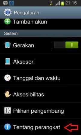 Cara Upgrade Samsung OS Android Dengan Mudah dan Cepat