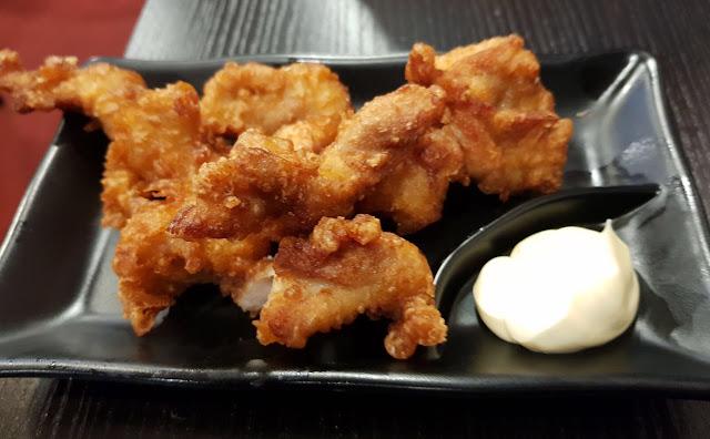 Okami Japanese Restaurant, Camberwell, chicken karaage