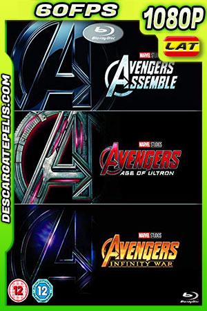 The Avengers 1-2-3 (2019) 1080P BDrip 60 FPS Latino – Ingles – Castellano