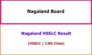 Nagaland HSSLC 12th Class Exam Result 2021