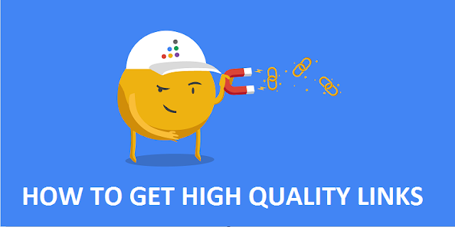 How To Get High Quality Links In 2017