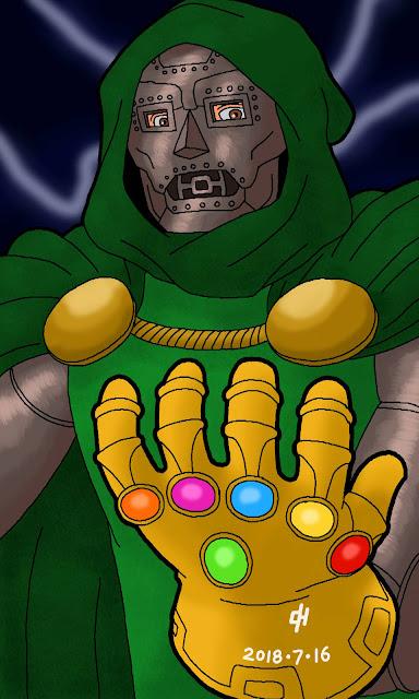 Commission 0072, Doctor Doom