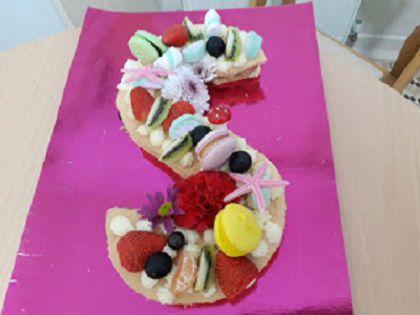 Harfli Doğum Günü Pastası Nasıl Yapılır – Kekten Harf Pasta Tarifi
