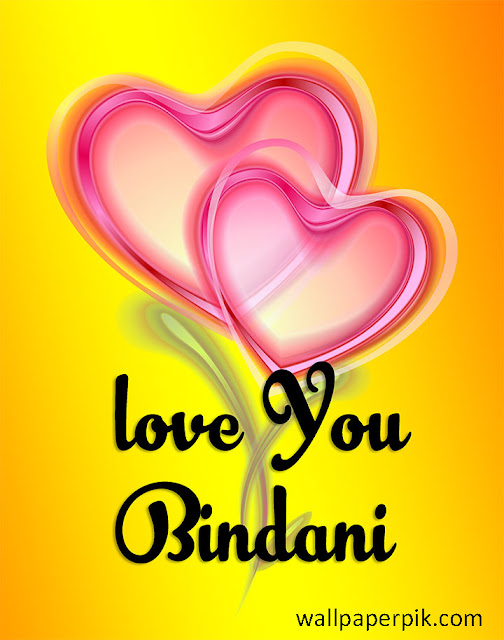 i love you bindani image photo