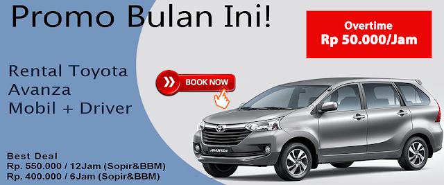 Terlengkap! Jasa Sewa Rental Mobil Avanza di Jakarta Timur, Barat, Selatan, Pusat, Utara