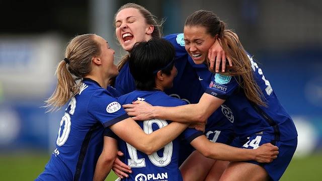 Chelsea Women chega à final da Champions pela primeira vez em sua história