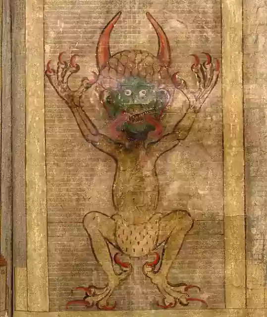 Codex Gigas Original Scan PDF : Devil's Bible