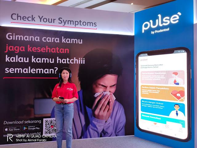 Pulse: Aplikasi Terbaru dari Prudential yang Dapat Membantu Mengecek Kesehatan