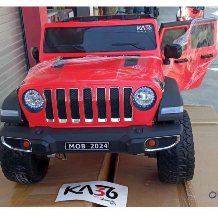 Mobil Mainan Anak Aki Anak Jeep Wrangler MOB 2024
