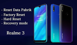 factory data reset realme 3