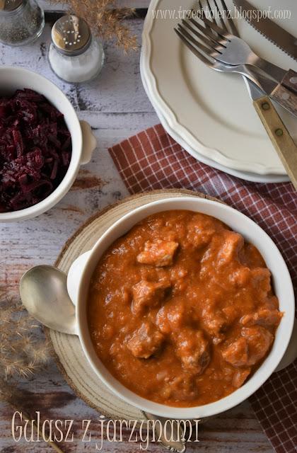 Gulasz z jarzynami – kuchnia podkarpacka