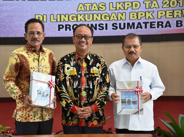 Pemkab Padangpariaman  Catat Rekor Baru Rengkuh Penghargaan WTP Lima Kali Berturut-turut