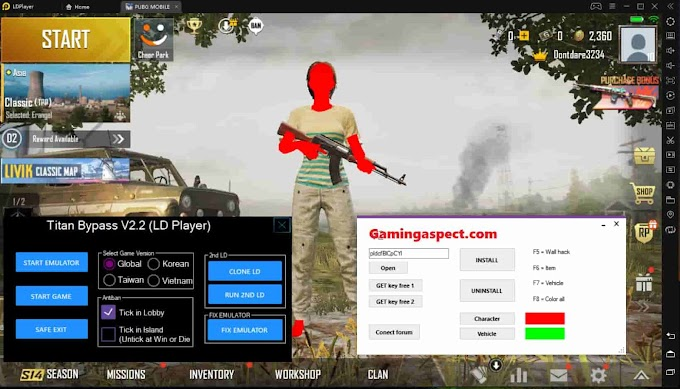 LD Player PUBG Hack Download + Bypass Tool Working No Ban 2020 - -->--> - Free Cheats for Games
