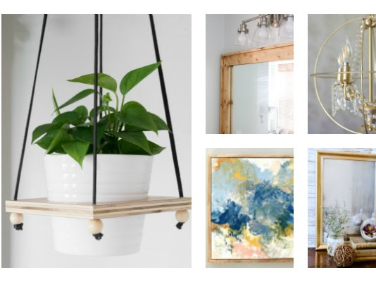 Two Hour DIY Projects for Your Home