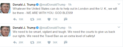 We will do anything to help London - Donald Trump says