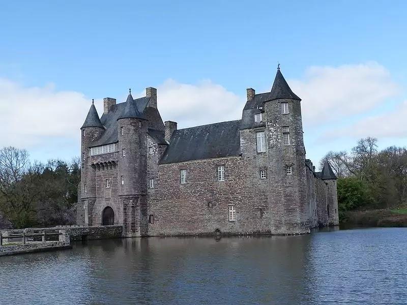 Haunted Château De Trécesson, France