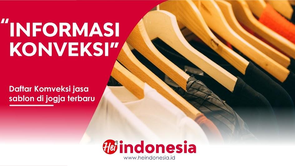 Info - Konveksi Jasa Sablon Jogja Terpercaya