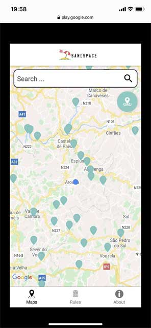Sandspace App For Portugal's Beaches