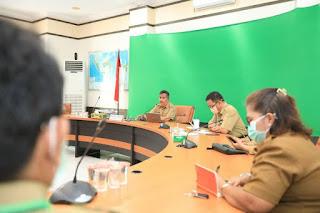 Rapat Evaluasi Screnning di Ruang Kerja Walikota Tarakan - Tarakan Info
