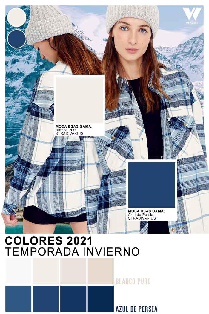 Colores para camisas y camisacos otoño invierno 2021