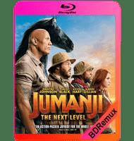 JUMANJI: EL SIGUIENTE NIVEL (2019) BDREMUX 1080P MKV ESPAÑOL LATINO