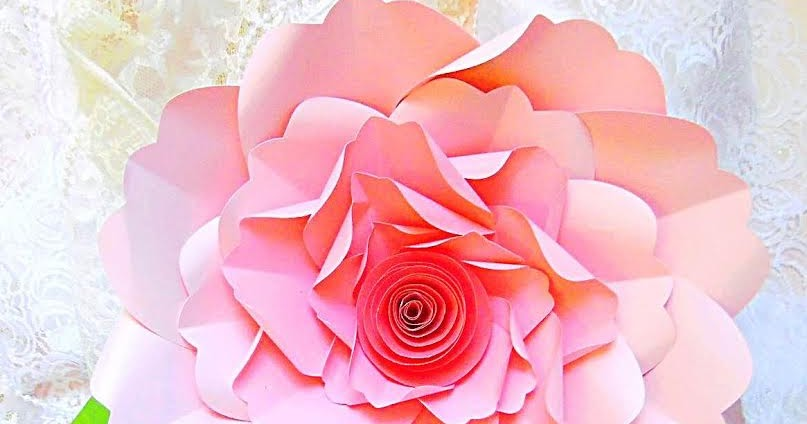 Mama S Gone Crafty Charlotte Style Diy Paper Flower