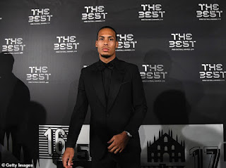 Liverpool stars Virgil van Dijk and Alisson included in FIFA's FIFPro Men's World XI