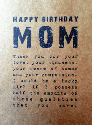 Cute Birthday Messages For Mother