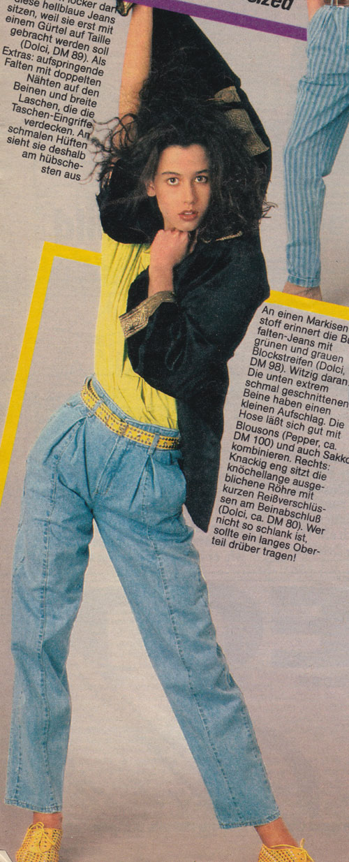 Vongestern Blog Jeans Die Relativ Anmachen 1986