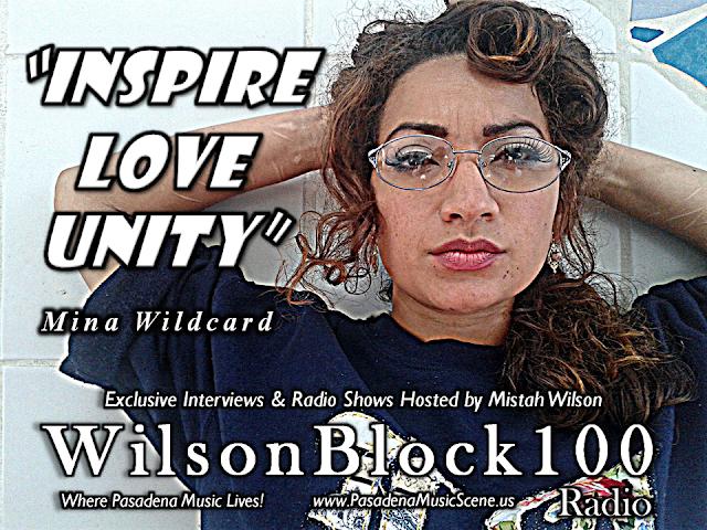 Mina Wildcard Exclusive Interview on WilsonBlock100 Radio hosted by Mist...